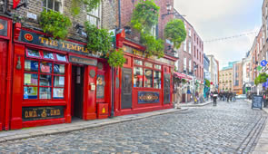 Irland Dublin Zentrum Temple Bar