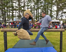 Highland Games in Moray Schottland