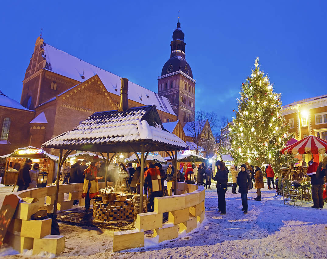 der sch nste weihnachtsmarkt ist in riga. Black Bedroom Furniture Sets. Home Design Ideas