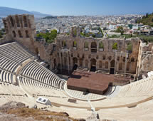 Odeon des Herodes in Athen