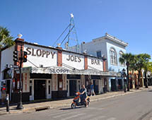 Sloppy Joes Bar in Key West Florida
